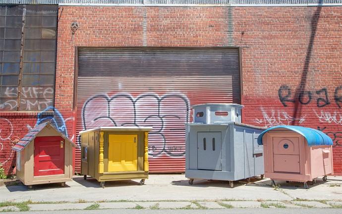 'Tiny Houses': California Homelessness Gets New $40 Solution