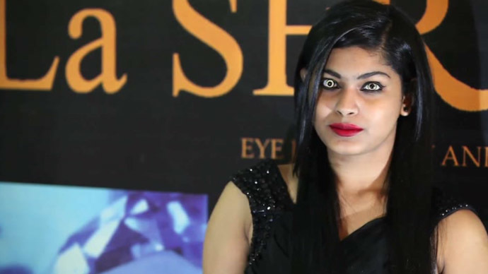 Indian Doctor Creates Contact Lenses With 24-Carat Gold