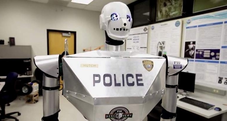 Robot Cops Will Be Patrolling Your Streets