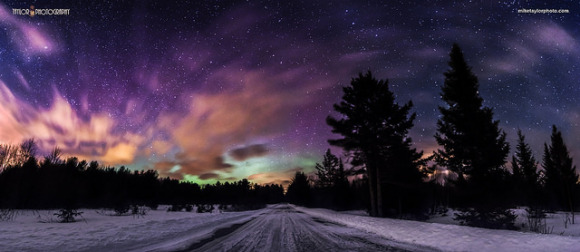 Magnetic Storm Produces Beautiful Aurora Around The World