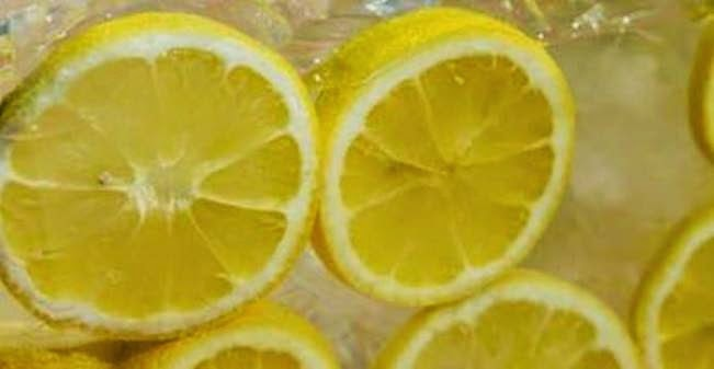 Here's Why You Should Always Freeze Your Lemons