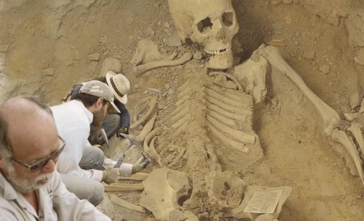 'Huge Skeleton' Discovered in Bulgaria's Varna