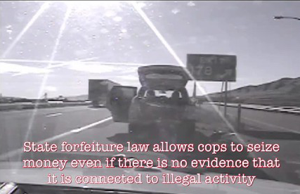 Legalized Highway Robbery, Cop Caught on Dashcam Stealing $50,000 Cash