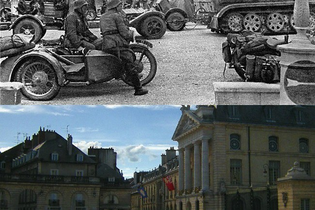 Its Shocking To See Just What Happened In This French Town Over The Past 70 Years