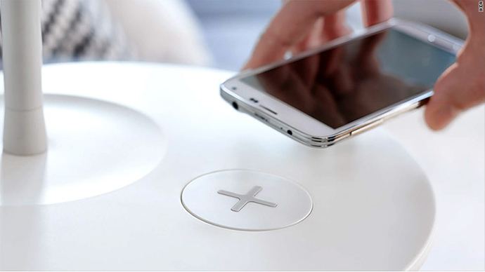 No More Wires: ​Ikea Unveils Furniture With Built-in Wireless Device Charging