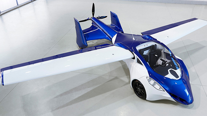 'Fifth Element' Flying Cars to Hit Skies By 2017