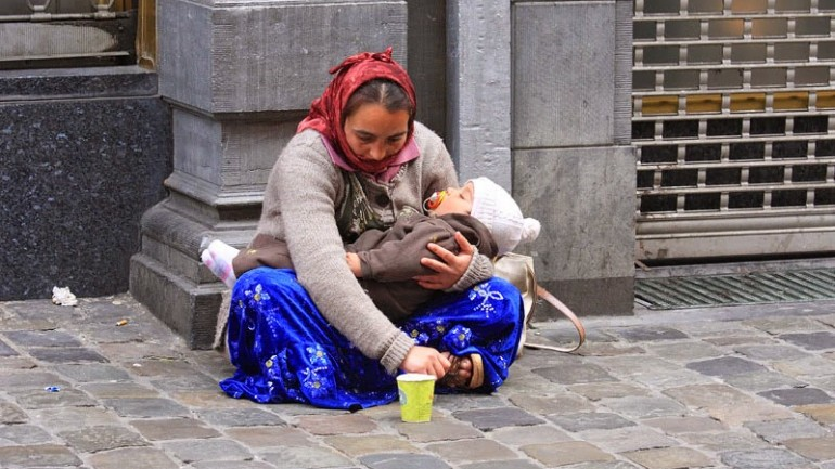 Why Does The Child In Hands of The Beggar Always Sleeping?