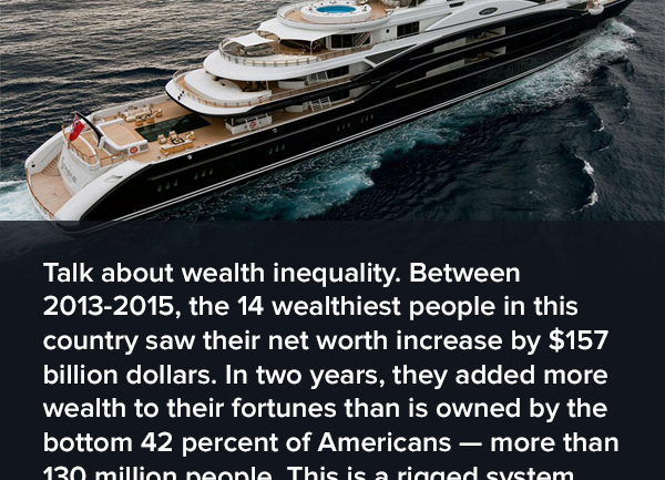 Finally: List of 80 People With As Much Money As 1/2 of Humanity