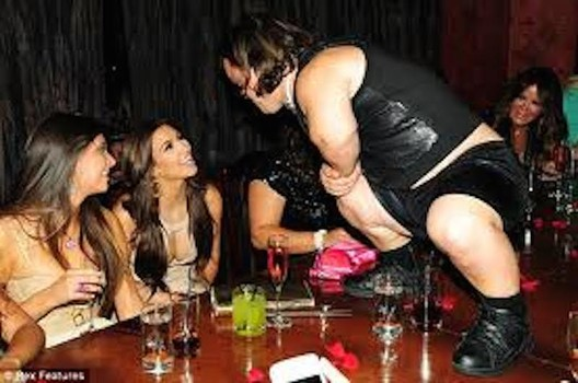 Dwarf Stripper Impregnates Bride To Be At Her Bachelorette Party