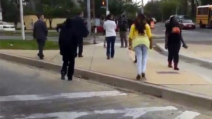 'Mother of The Year:' Baltimore Woman Slaps, Scolds Rioter