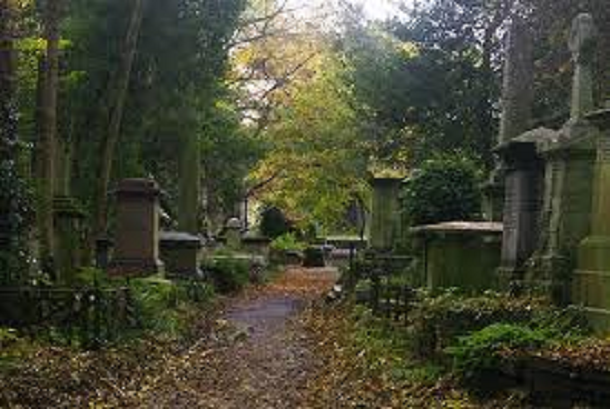Highgate-Cemetery.-London