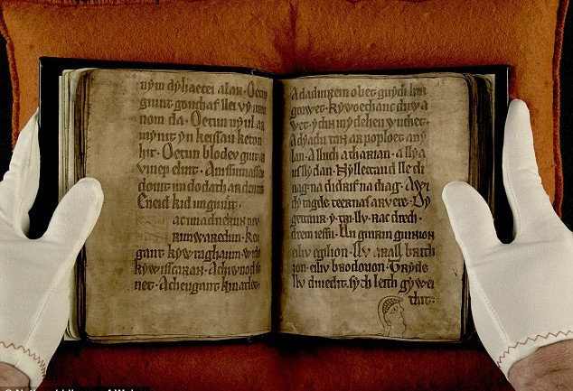 The book of GHOSTS: Eerie Faces & Messages Discovered in Ancient Medieval Manuscript