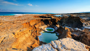 Massive Sinkholes Opening, Dead Sea Disappearing At Alarming Rate