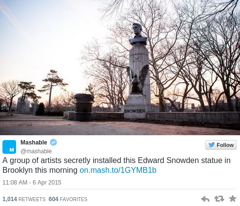 Snowden cover up  Unauthorized bust in Brooklyn becomes martyr to cause  RT USA