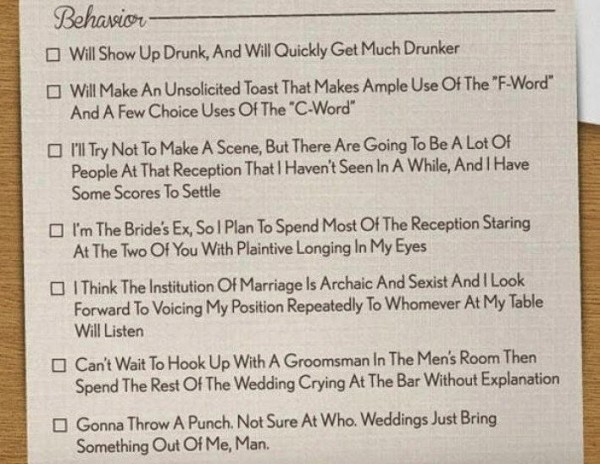 The Most Brilliant Wedding Invitation You'll Ever See (1)