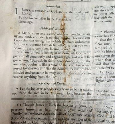 A Bible Was Found in the Rubble of a Texas Home Following a Tornado. But It's the Verse That It Was Open to That Is Gaining Attention