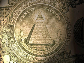 72972-dollar-bills-annuit-coeptis-triangle-pyramid-god-satan-owl-spider-cherubim-four-faces-illuminatus-masonic-symbols-meanings-2524-numbers-bible-1-5-10-20-50-100-one-five-ten-two-9-11-world-trade