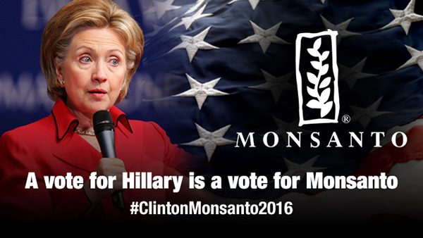 Bride of Frankenfood: Hillary Clinton Pushes GMO Agenda… Hires Monsanto Lobbyist… Takes Huge Dollars From Monsanto