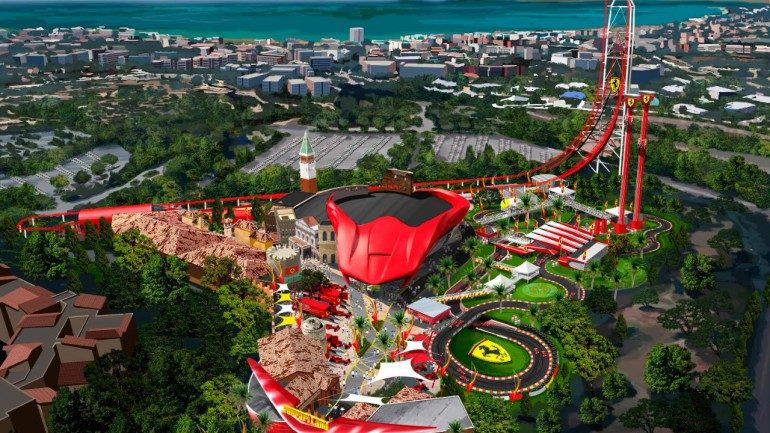 Ferrari Is Building A New Car-Based Theme Park Coming In 2016‏