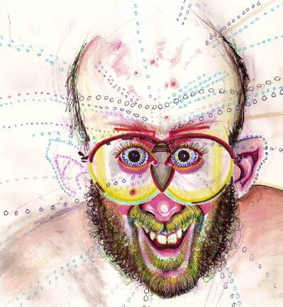 See What Happened When An Artist Tried 30 Kinds Of Drugs Before Doing A Self Portrait