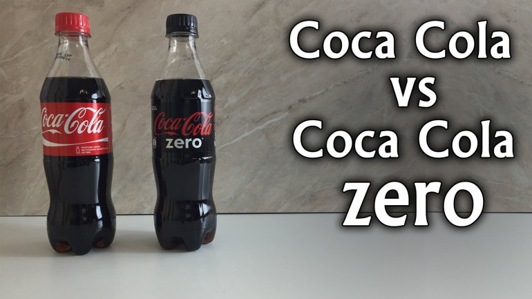 Coca Cola vs Coca Cola Zero – Sugar Experiment