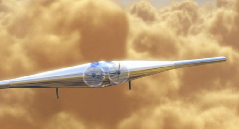 This Inflatable Aircraft Could Explore The Skies of Venus