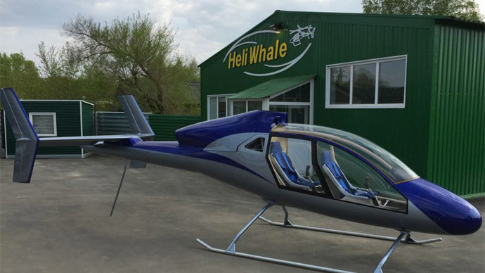 Russian Manufacturer Reveals The World's Cheapest Helicopter