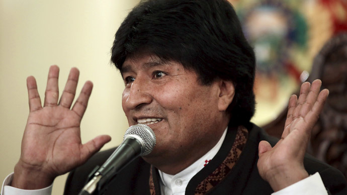 'Get Rid of The US Political Influence, IMF Dictate' – Bolivia's Leader Evo Morales To EU