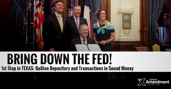 Texas to Repatriate $1 Billion in Gold from Federal Reserve to New State Depository