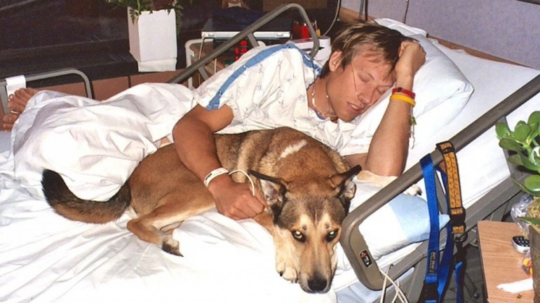 Doctors Told Him To Leave His Owner's Hospital Bed, But Wait Until You See The Dog's Reaction!
