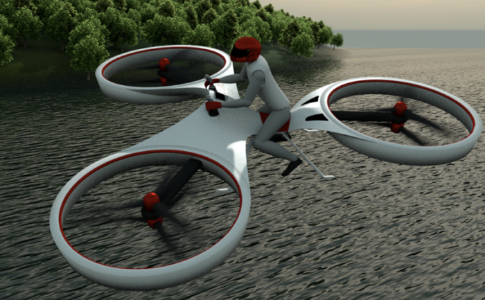 This Hover Bike Needs To Replace Every Car Immediately