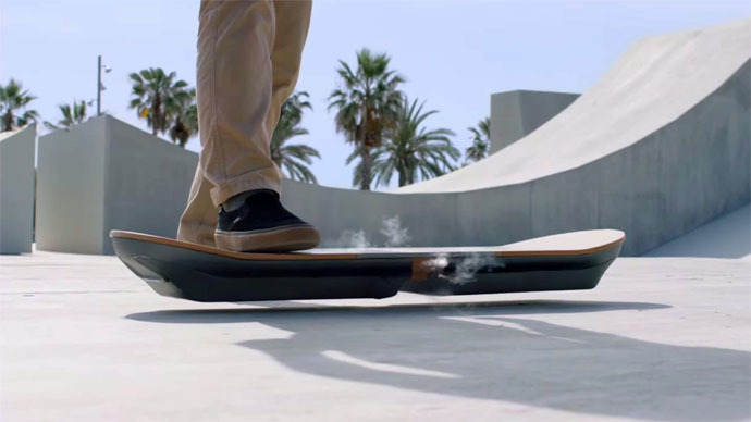 Back To The Future is Here: Lexus Builds a Working Hoverboard