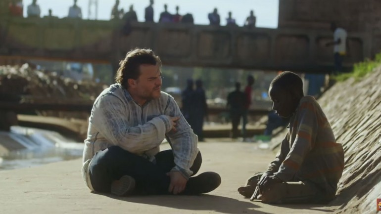 Jack Black Meets A Homeless Boy. When He Hears His One Wish, He Loses It