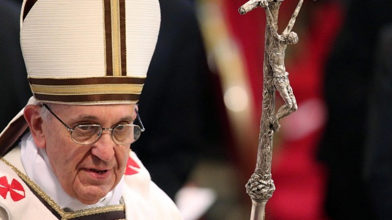 Pope Francis Identifies The Antichrist