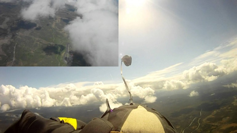 "Skydiver Is Nearly Struck By Meteorite, Captures First Film Of ""Dark Flight"" Meteor"