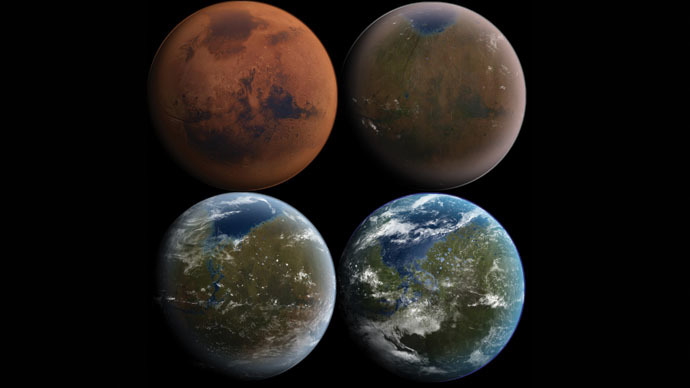 DARPA Hopes To Terraform Mars With Human Engineered Organisms