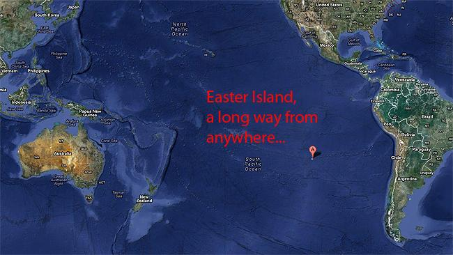 Discovery Of The Easter Island Heads