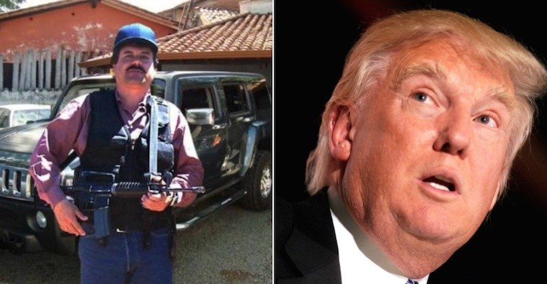 Escaped Drug Lord El Chapo Threatened Donald Trump On Twitter