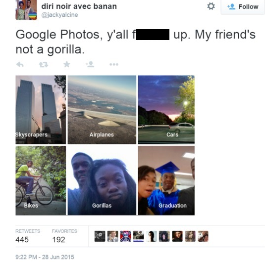 Google Identifies Black People As Gorillas Other Image Recognition Fails Diply