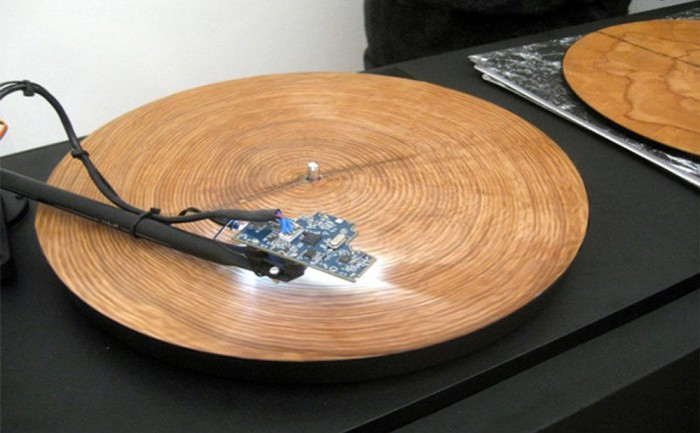 This Is What A Tree Sounds Like When You Play It On A Record Player