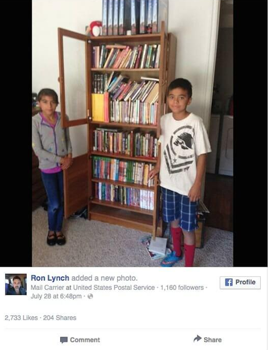 Boy Can't Afford Books Begs Mailman For Junk Mail To Read. What Happens Next Is AMAZING – Practically Viral