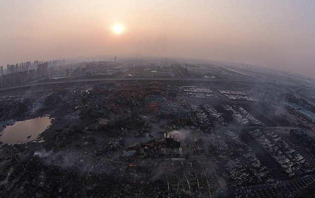 China and America Already at War: Tianjin Explosion Carried out by Pentagon Space Weapon in Retaliation for Yuan Currency Devaluation