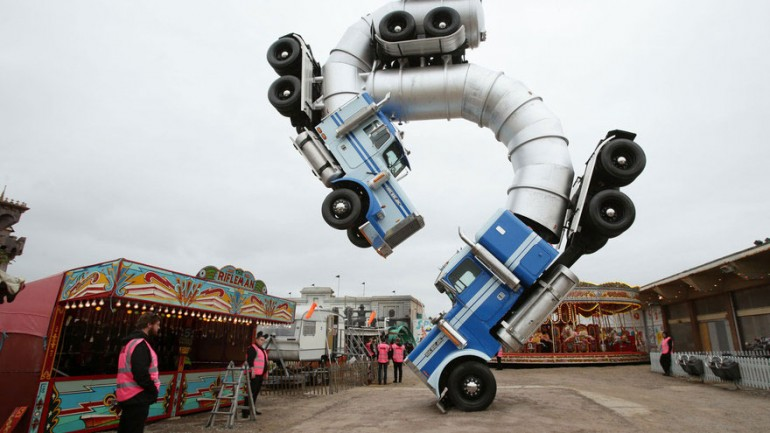 Banksy's Dismaland: Take A First Look Inside Nightmare Version Of Disneyland
