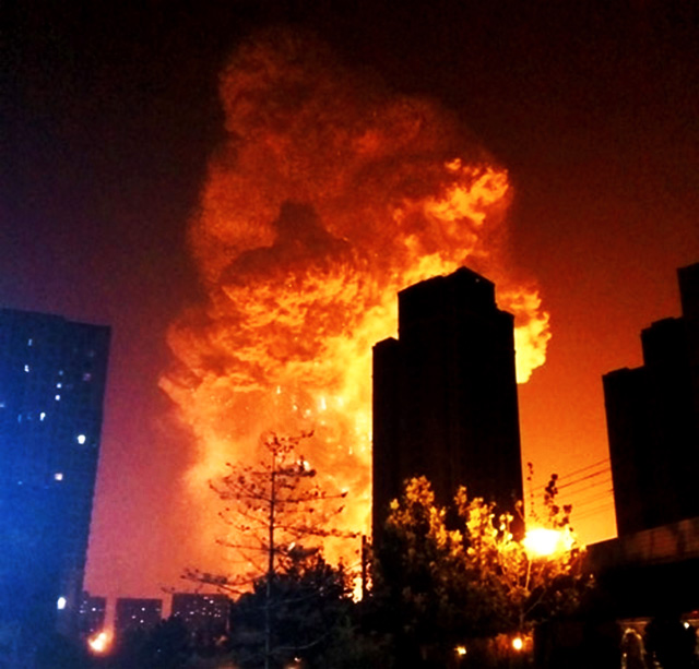 the damage caused by the nuclear explosion in china Video of a massive explosion that just took place in tianjin, china cause of the explosion is unknown appears to show a massive explosion in china's.