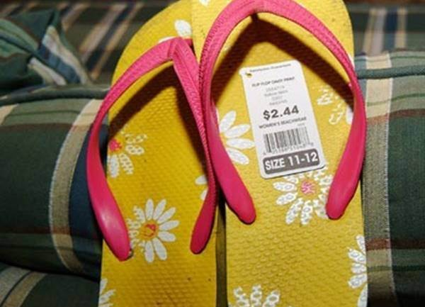 BEWARE Of Rubber Hair Bands And Cheap Slippers Manufactured In China