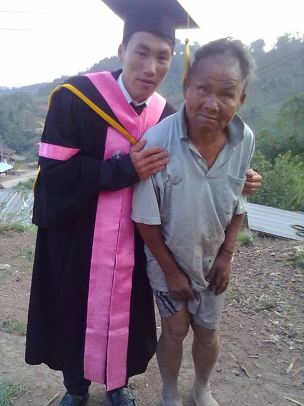 Poor Farmer's Son Graduates from College, outchemy