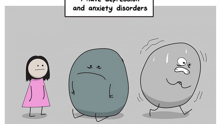 A Comic Perfectly Explaining Why Anxiety & Depression Are So Difficult To Fight