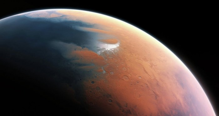 Solar System Rocked by Discovery of Water on Mars