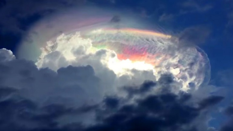 'End of Days': Amazing Multi Colored Cloud Sparks Debate