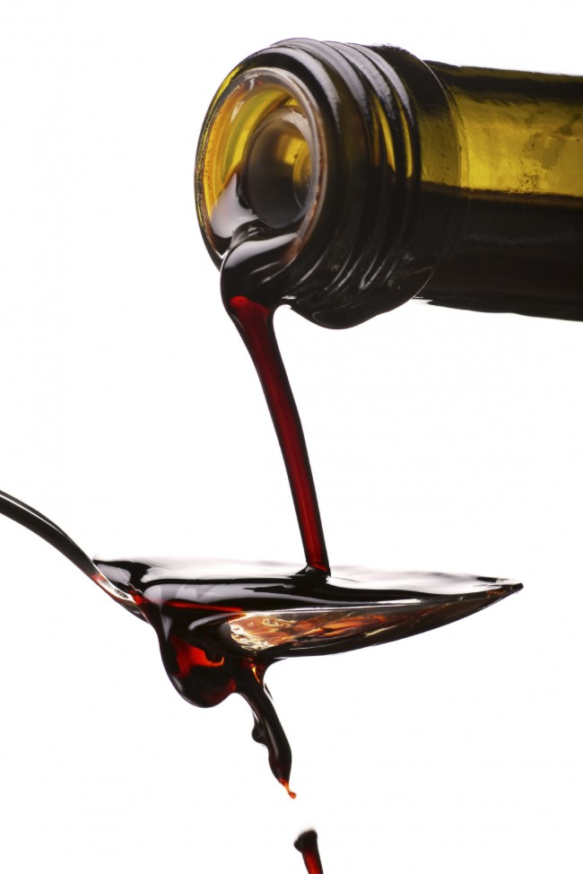 measurement of balsamic vinegar